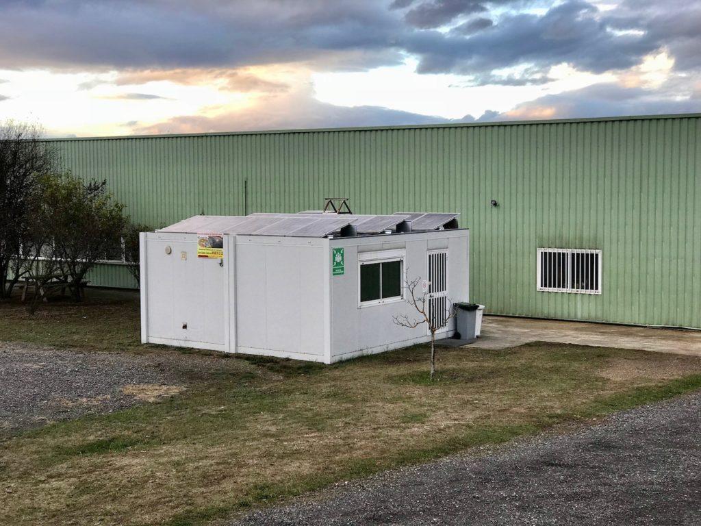 installation photovoltaique sur toit plat