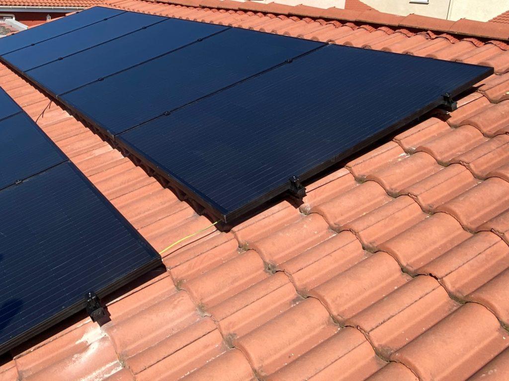 fixation panneau solaire