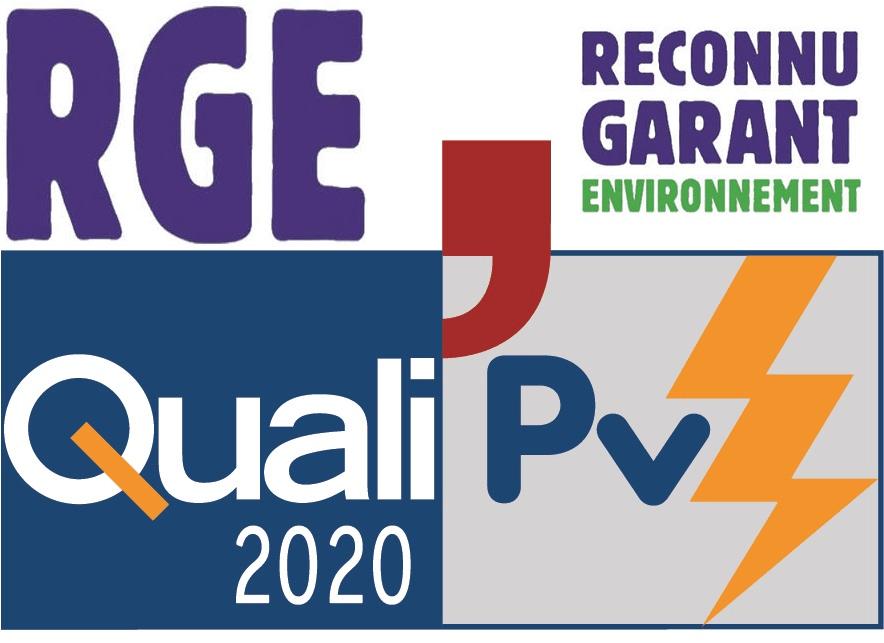 RGE qualipv2020 installateur photovoltaïque