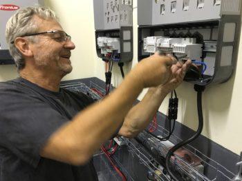 electricien photovoltaique
