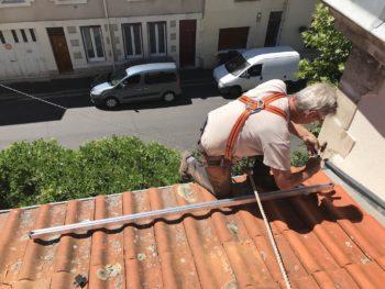 securite travail en hauteur photovoltaîque