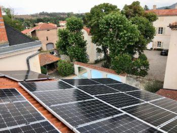 piscine panneau solaire