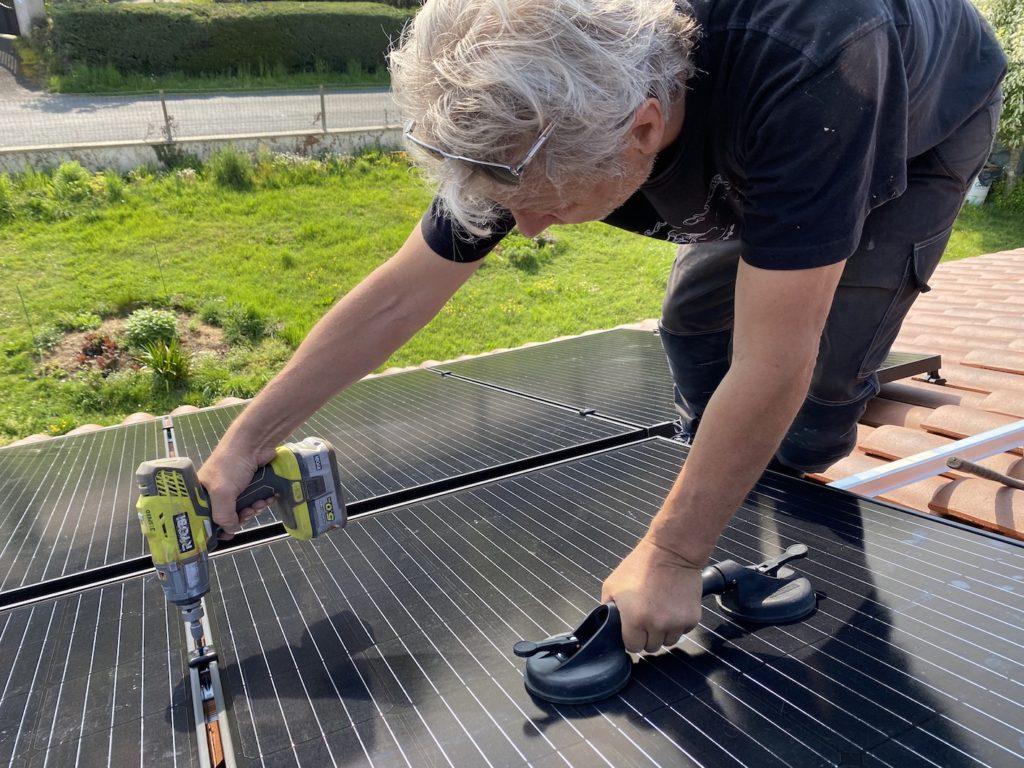 photovoltaïque fixation Sauxillanges