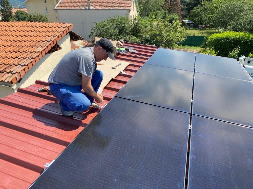 installation photovoltaïque