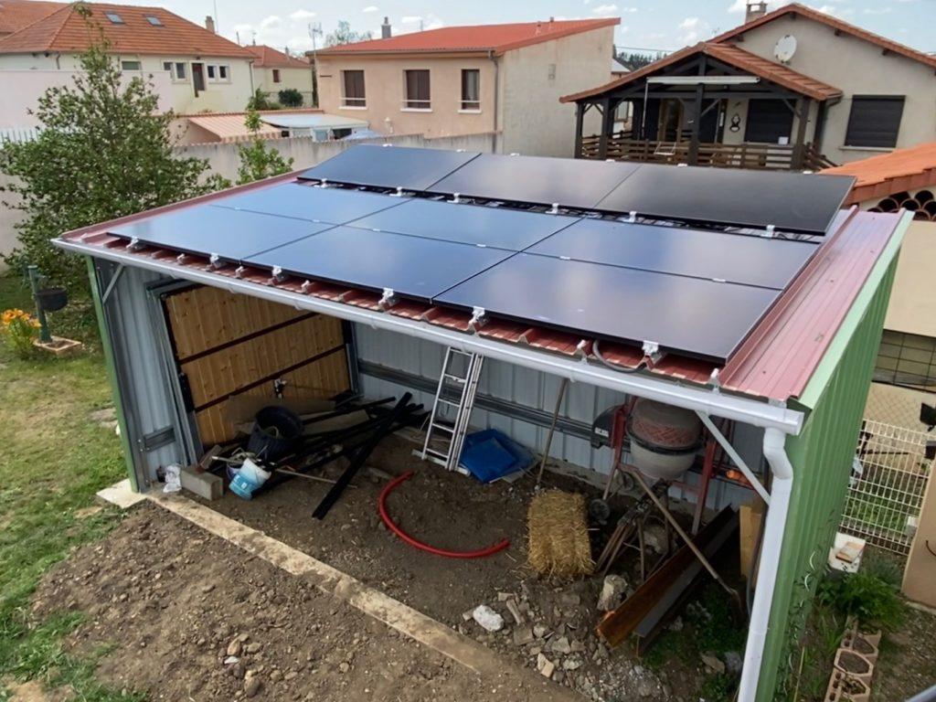 installation panneau solaire Sainte-Florine