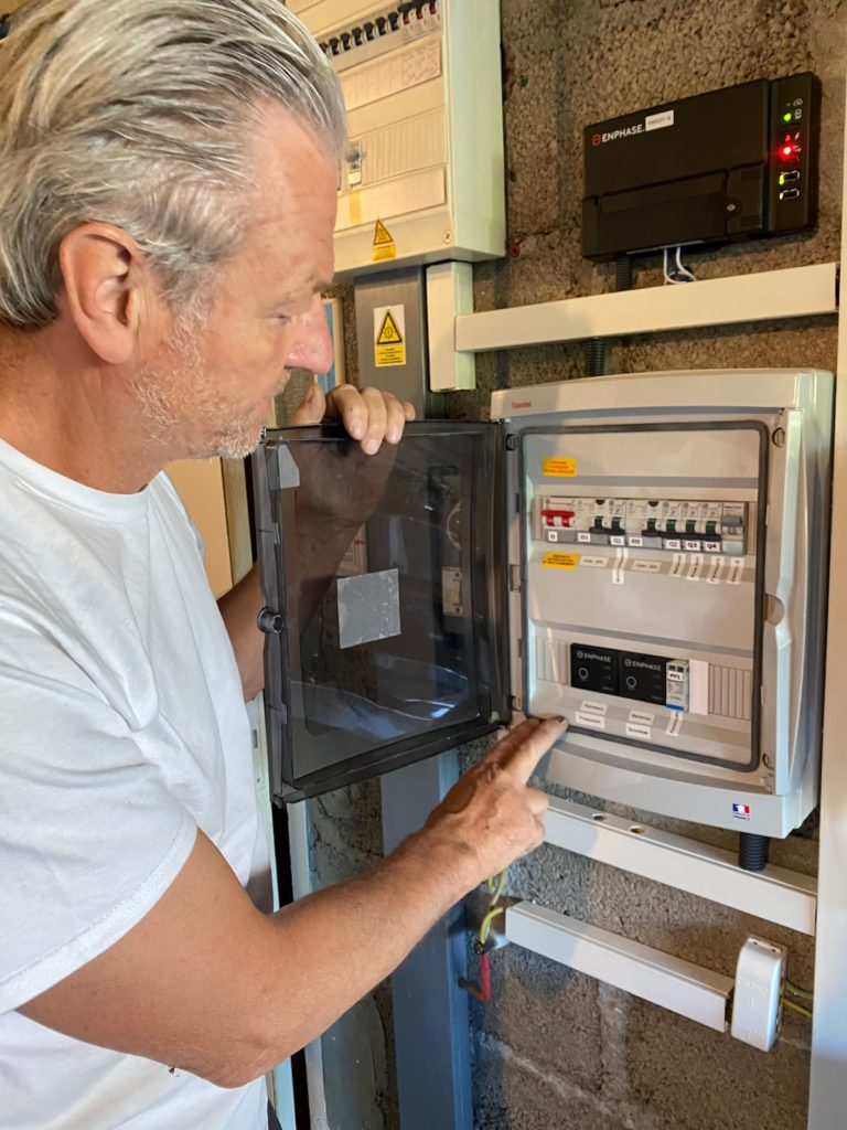 électricien installation photovoltaïque