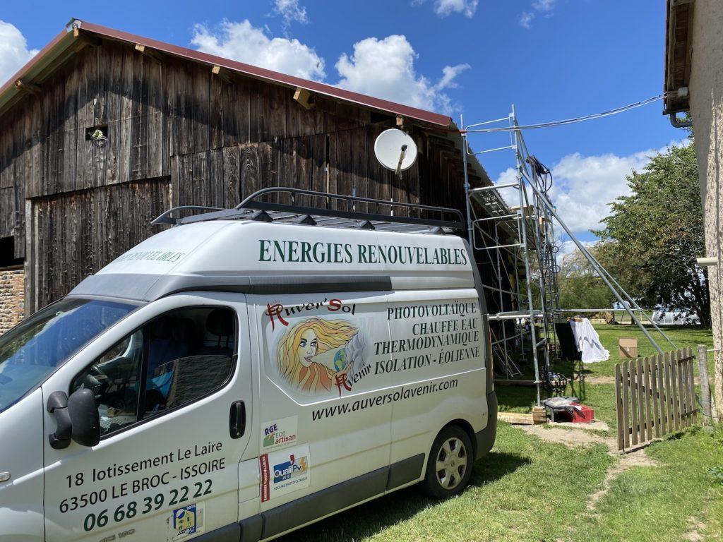 installation photovoltaïque Auvergne