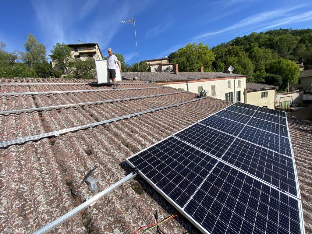 panneau solaire Auvergne