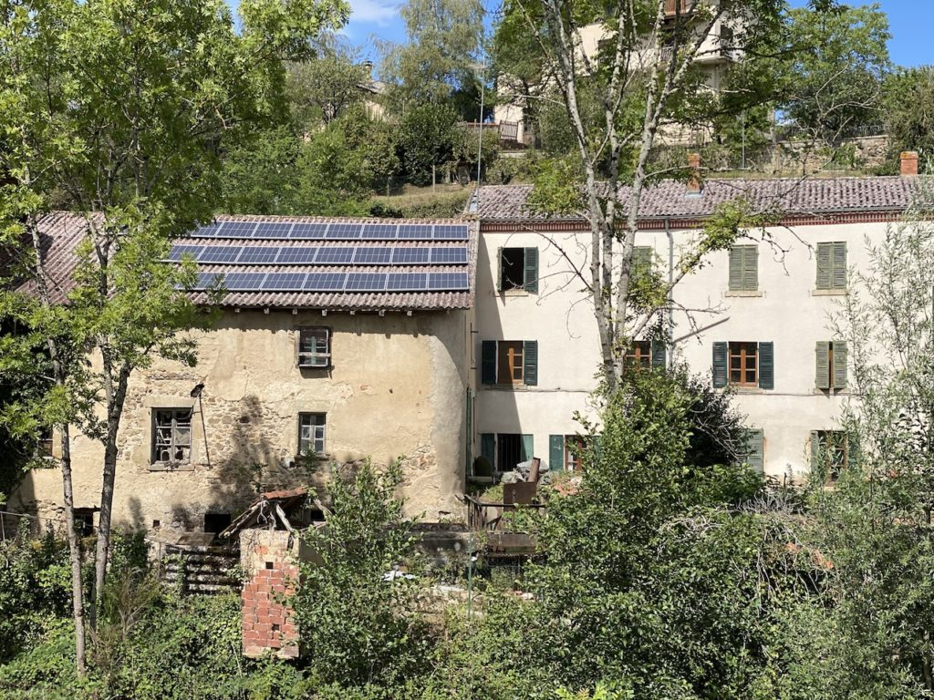 énergie solaire Auvergne