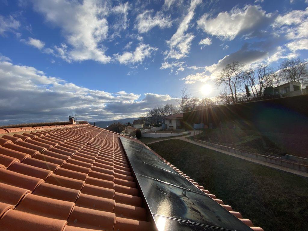 installation photovoltaïque Auver Sol Avenir Issoire